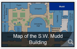 Map of the S.W. Mudd Building