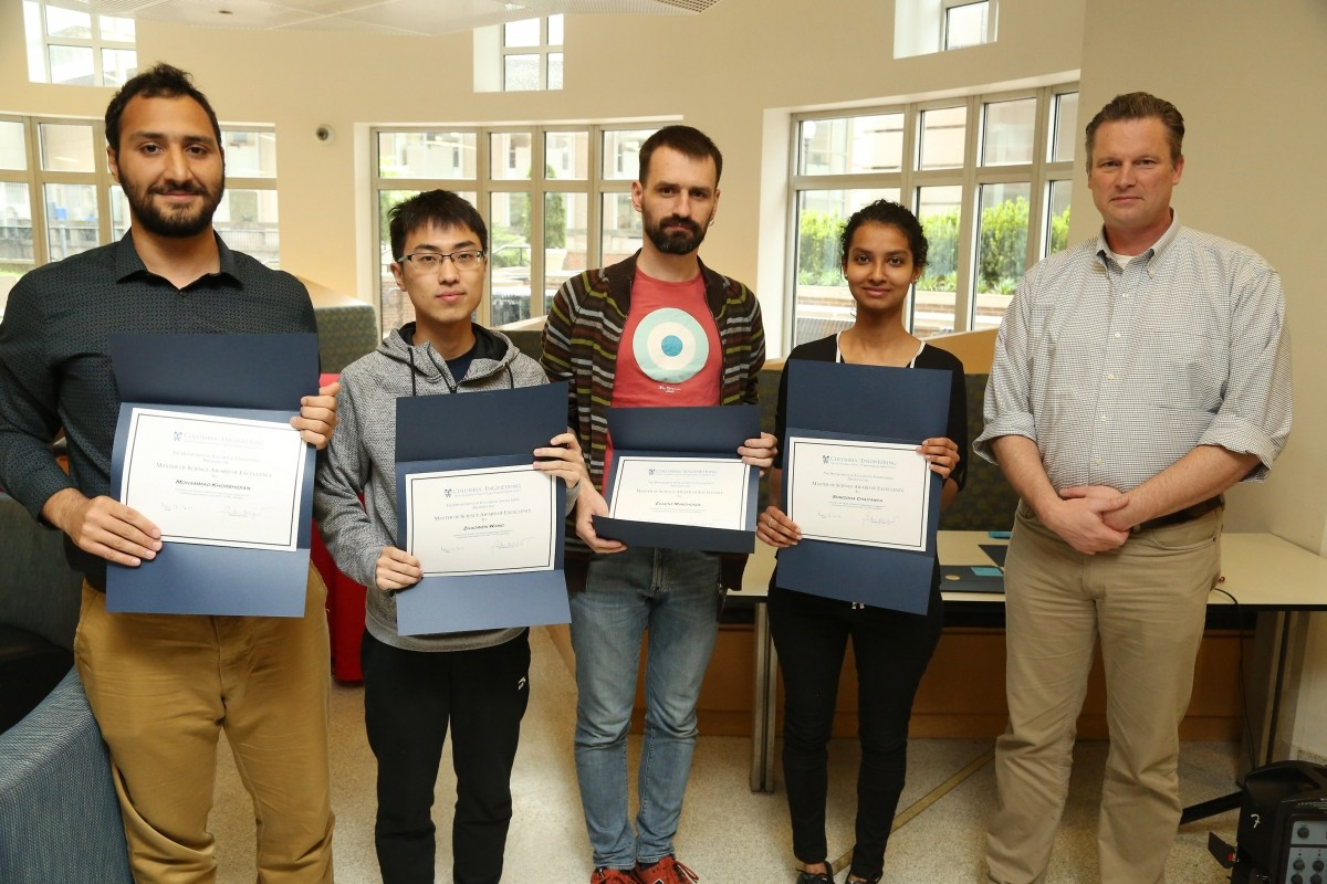 2019 Graduate Student Award Recipients