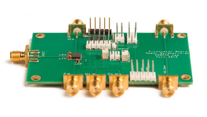 First CMOS full duplex receiver IC with integrated magnetic-free circulator