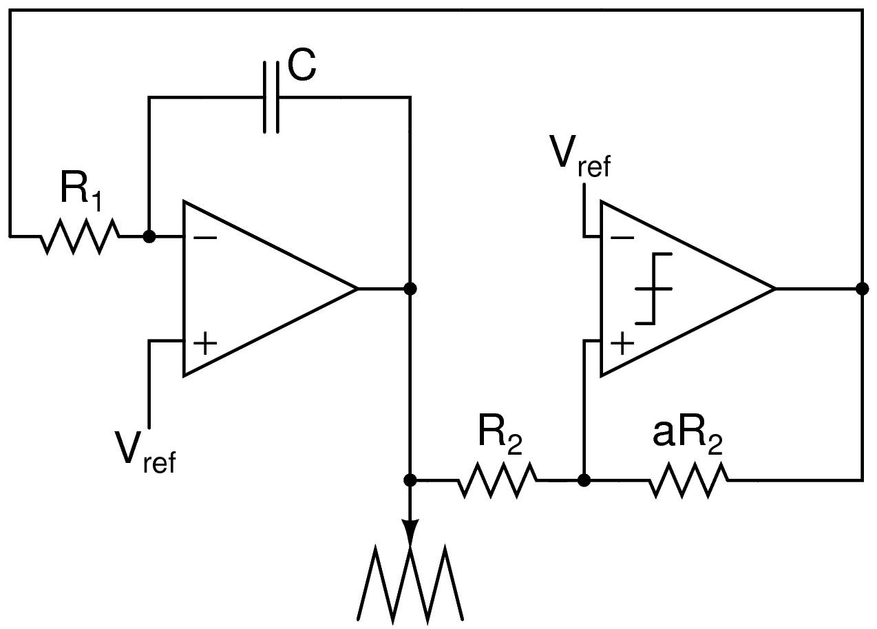 Block Description Triangular Wave Signal Generator Circuit Trianglewavegenerator