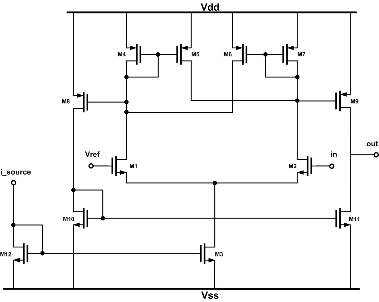 Simple Comparator Circuit Related Keywords Suggestions Inverting With Hysteresis Long Tail