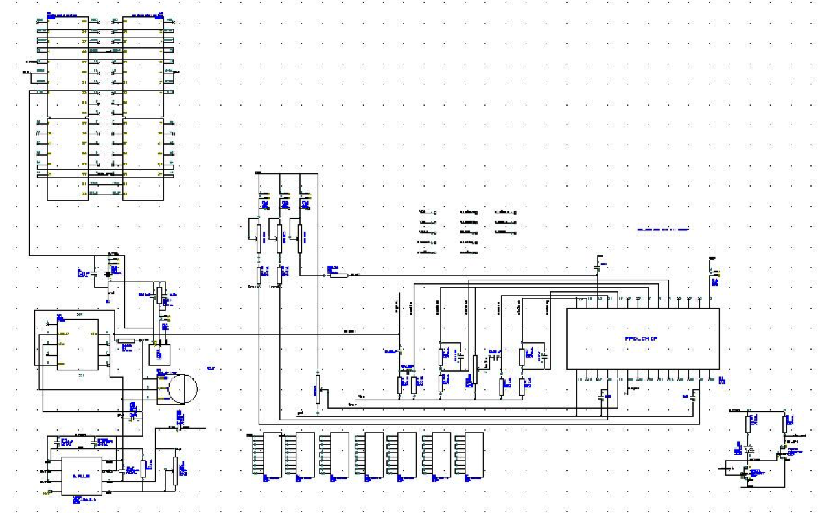 Pcb Design Main Schematic Diagram